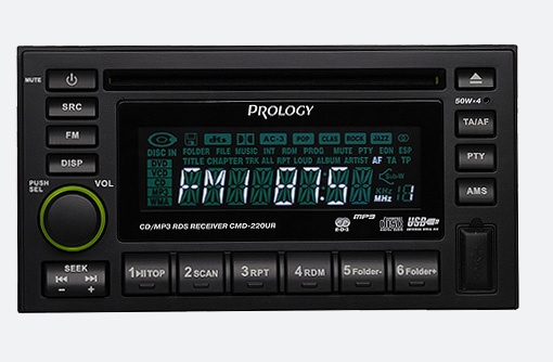 PROLOGY CMD-220 UR 2 din