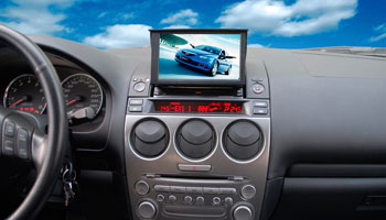 Phantom DVM-6500G+GPS (Mazda 6)