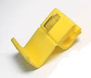 Коннектор «гильотина» желтый (100шт)