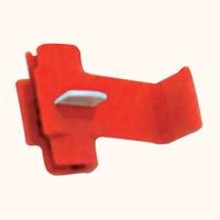 Коннектор «гильотина» красный (100шт)