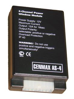 Интерфейс стекол CENMAX AS-4