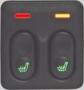Подогрев сидений «Емеля» УК-1 (2 кнопки в блоке)