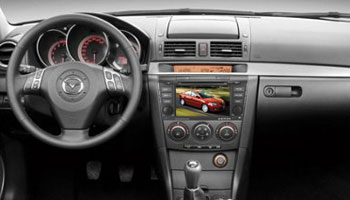 Phantom DVM-3500G+GPS (Mazda 3) titanium
