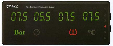 Система контроля давления в шинах PARKMASTER  TPMS-6-08