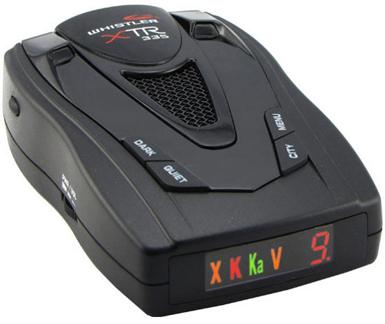 WHISTLER XTR-325